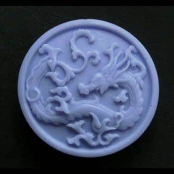 Chinese Dragon Round Bar