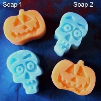 Pumpkins & Skulls (x 10)