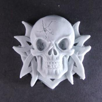Ornate Skull (x 2)