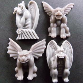 Winged Gargoyles (x 4)