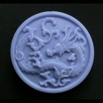 Chinese Dragon Round Bar